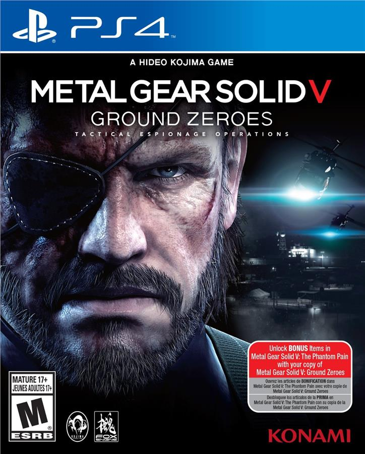 [NEW] PS4 Metal Gear Solid Ground Zeroes R-ALL [ENG]