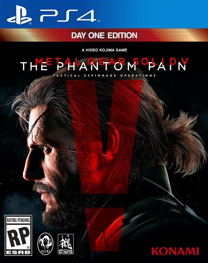 PS4 Metal Gear Solid V : The Phantom Pain