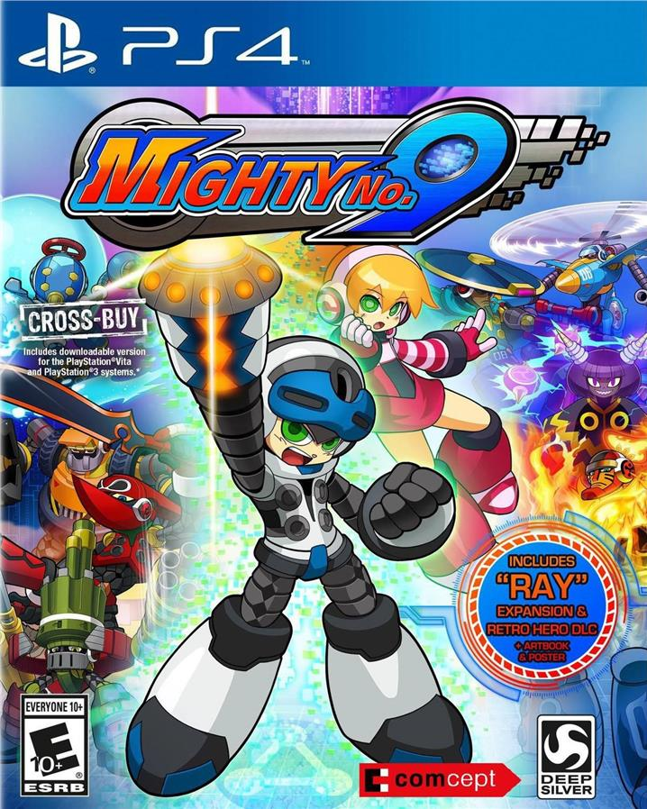 PS4 Mighty No.9 (CN&EN)(R3)