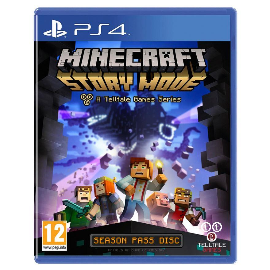 Ps4 Minecraft:Story Mode R1