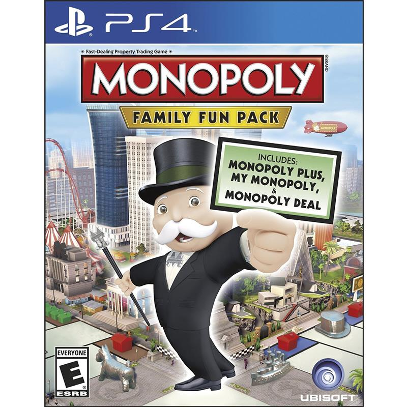 PS4 MONOPOLY FAMILY FUN PACK (R3)