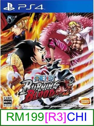 PS4 One Piece Burning Blood (CHI) [R3] ★Brand New & Sealed&#9733..