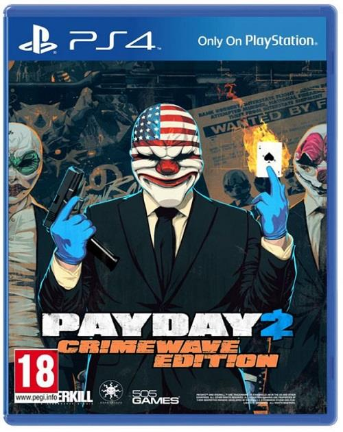 PS4 Pay Day 2 : Crimewave Edition