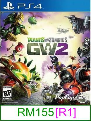 PS4 Plants vs Zombies Garden Warfare 2 [R1] ★Brand New & Sealed&..