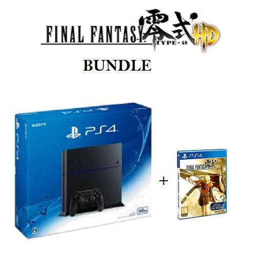 PS4 PlayStation CUH-1206 + Final Fantasy Type-0