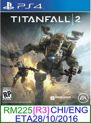 PS4 PREORDER Titanfall 2 (CHI/ENG) [R3] ★Brand New & Sealed&#973..