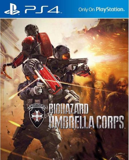 PS4 RESIDENT EVIL UMBRELLA CROPS for SONY PLAYSTATION 4