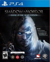 [NEW] PS4 Shadow of Mordor Game of the Year Edition GOTY R-ALL [ENG]