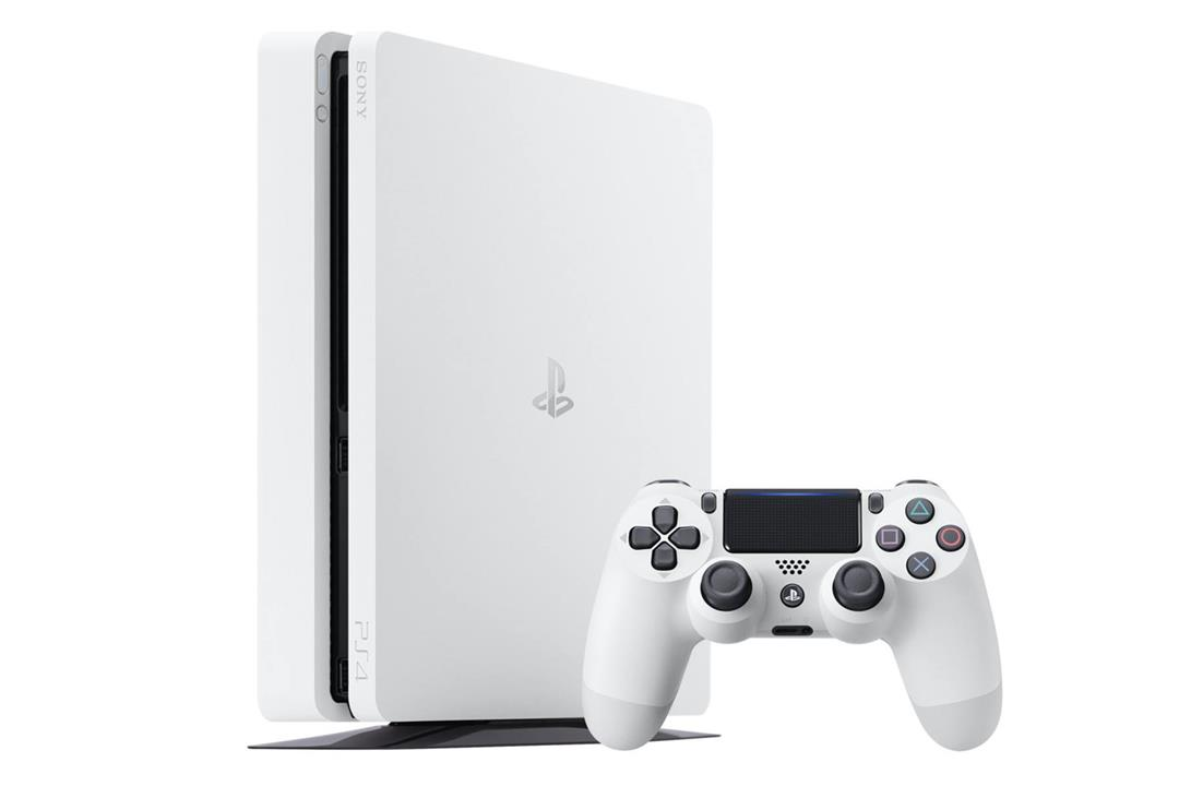 PS4 Slim 500GB - White+1 controller(random)