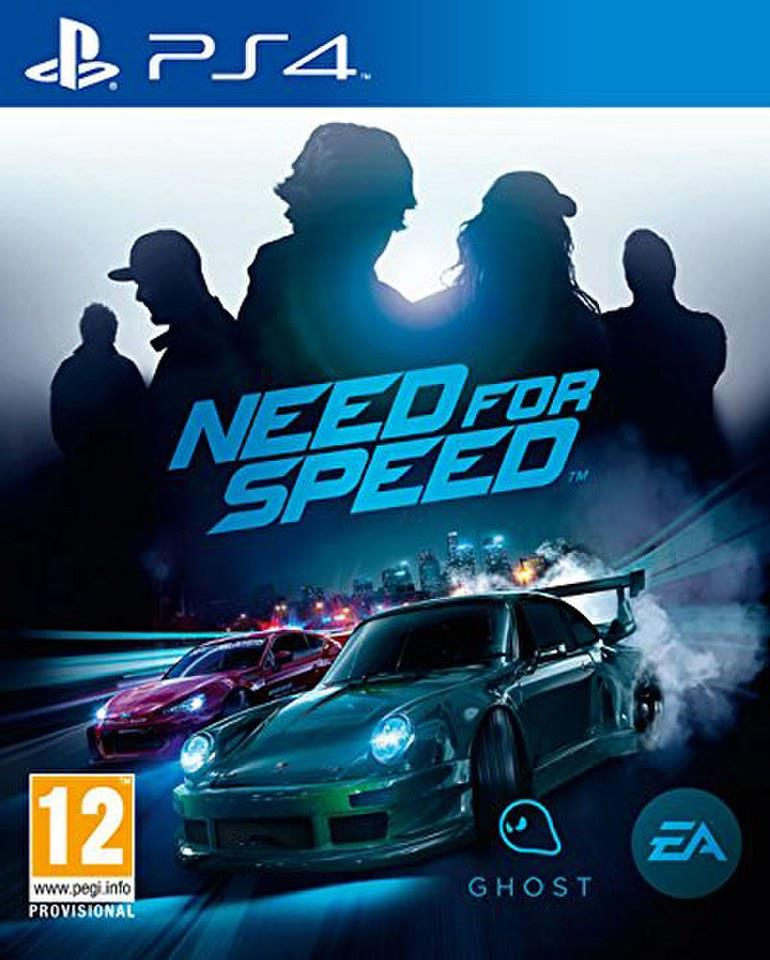 PS4 NEED FOR SPEED 2016 GAME for SONY PLAYSTATION 4
