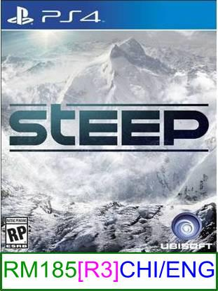 PS4 Steep (CHI/ENG) [R3] ★Brand New & Sealed★
