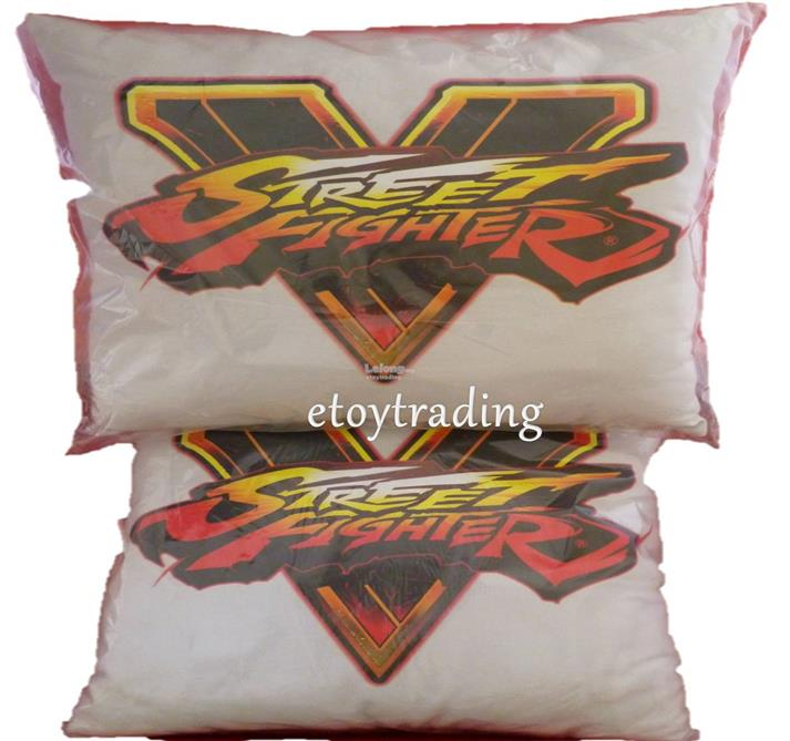 PS4 STREET FIGHTER V PILLOW LTD EDITION RM50 WHATSAPP +60102209266