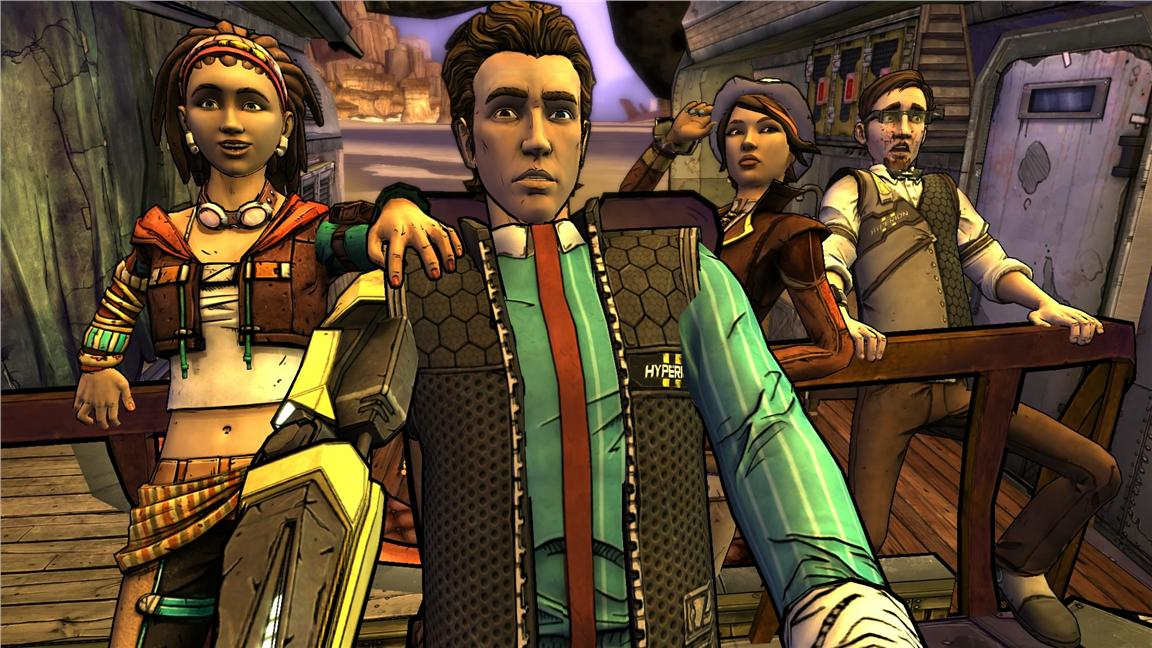 Ps4 Tales from the Borderlands
