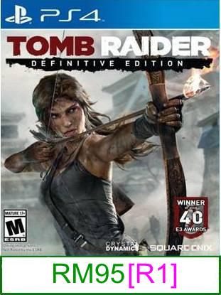 PS4 Tomb Raider Definitive Edition [R1] ★Brand New & Sealedύ..