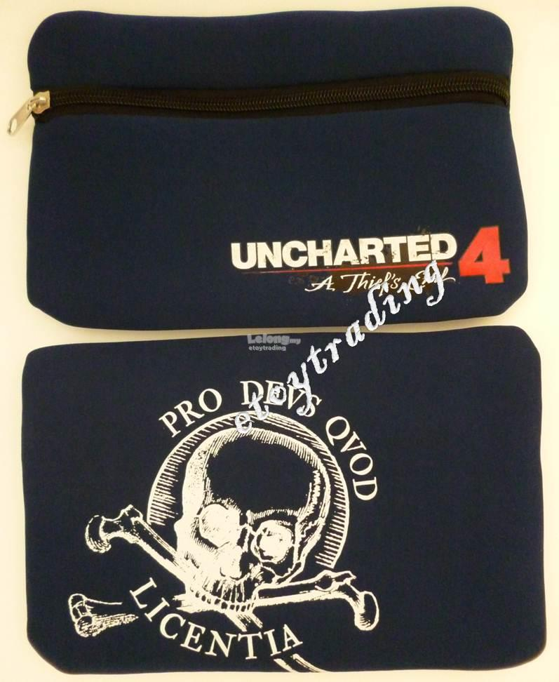 PS4 UNCHARTED 4 POUCH (OFFICIAL) RM30 WHATSAPP/SMS +60102209266