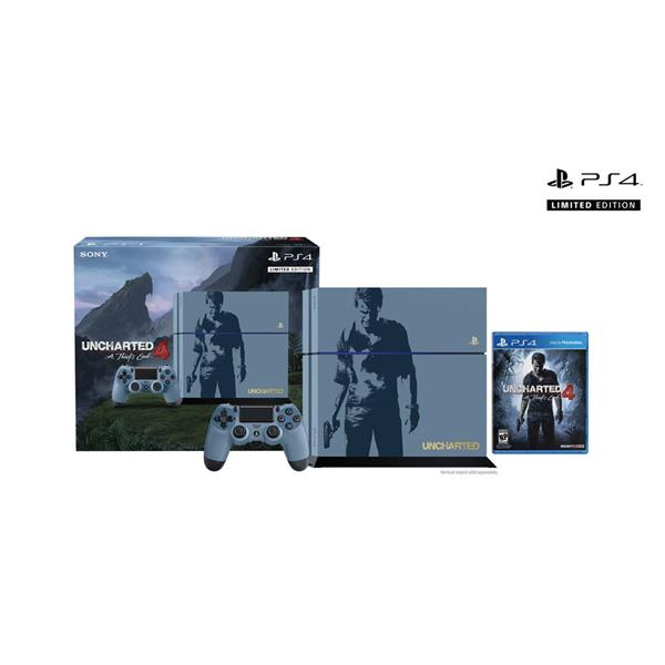 PS4 Uncharted 4 A Thief's End Limited Edition Bundle