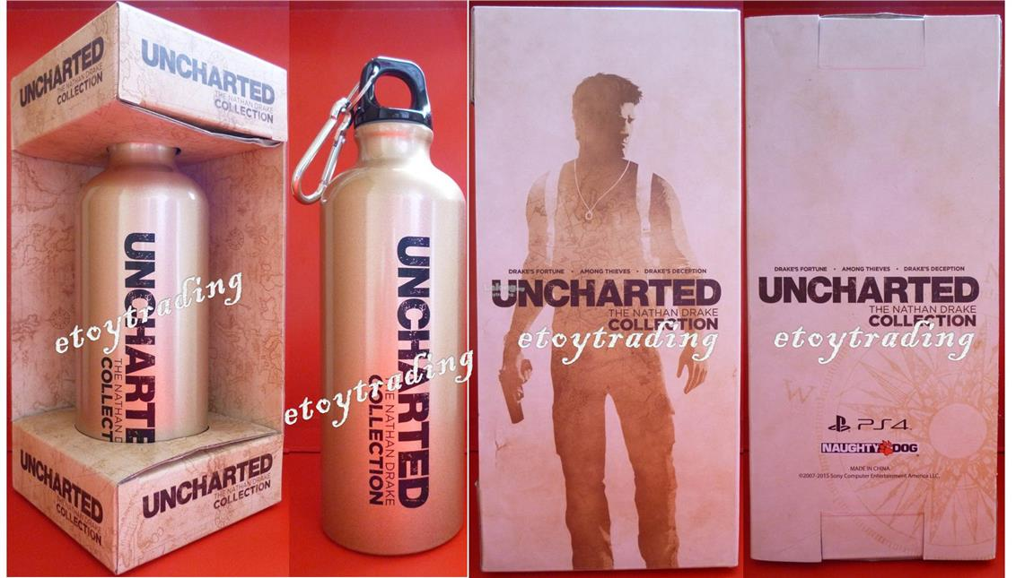 PS4 UNCHARTED THE NATHAN DRAKE DECANTER OFFICIAL RM40 WSAP+60102209266