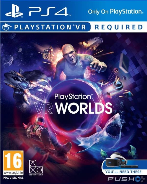 PS4 VR Playstation VR Worlds (R3)(CN&EN)