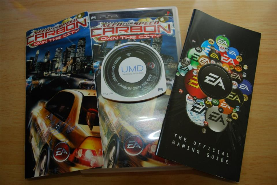 PSP UMD GAME: NEED FOR SPEED CARBON: OWN THE CITY ORI/USED