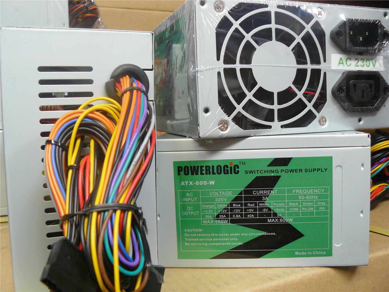 PSU Power Logic Power Supply Magnum (225 / 230) 450W (PLG 250W)