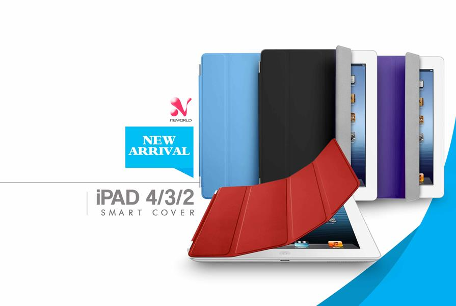 PU Leather Apple iPad 2 3 4 Smart Cover