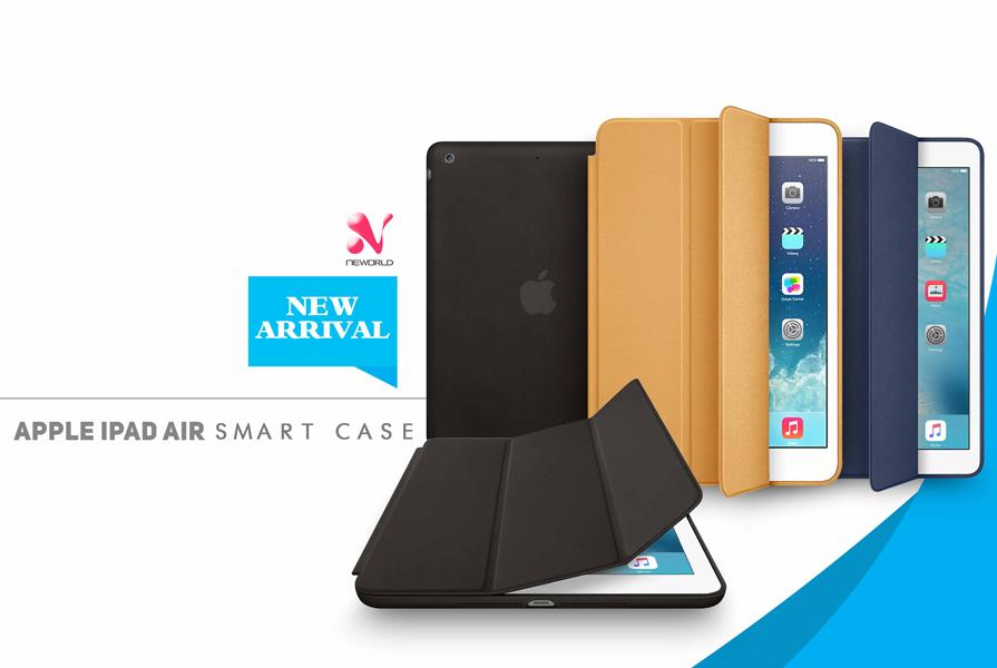 PU Leather Apple iPad Air Smart Case
