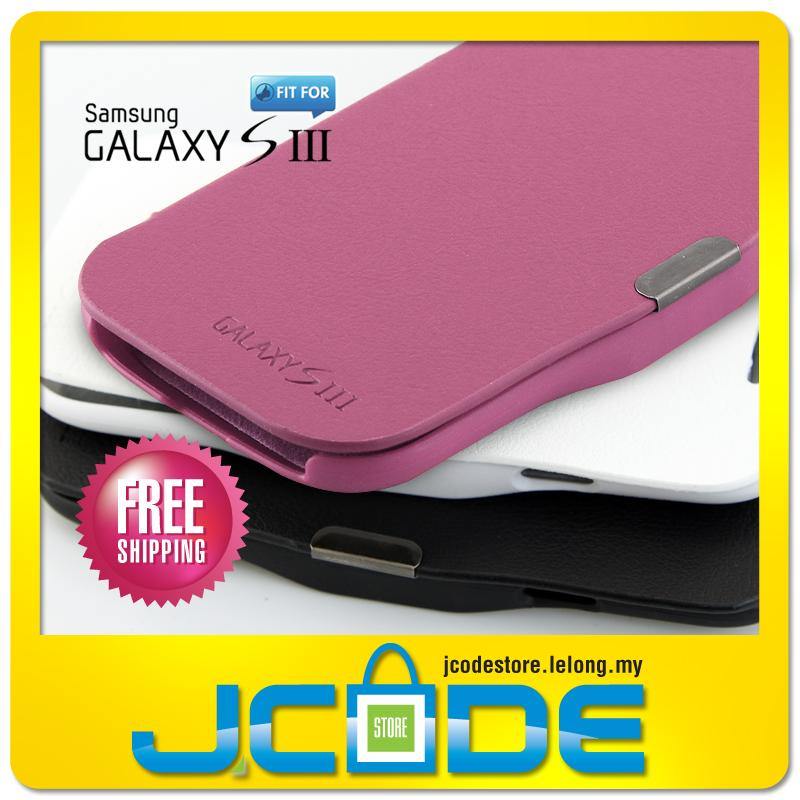 PU Leather Flip Case Stand Cover for SAMSUNG Galaxy S3 i9300