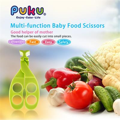 Puku Baby Food Scissors