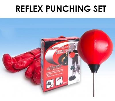 Punching Ball Bag Fitness Gym Equipment Boxing Adult Set