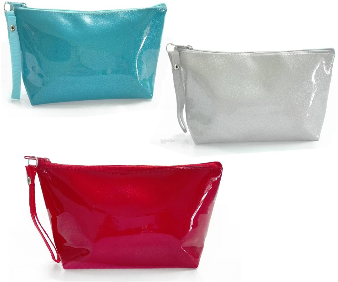 Purl Color Hand Wallet Bags Travel Pouches Cosmetic bags