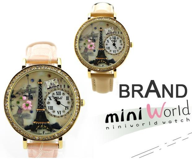 Pylon Mini World Watch Pink Romantic gift clear stock offer