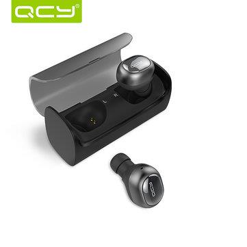 QCY Q29 Mono Fashion Bluetooth Headset With Charging Box - Black