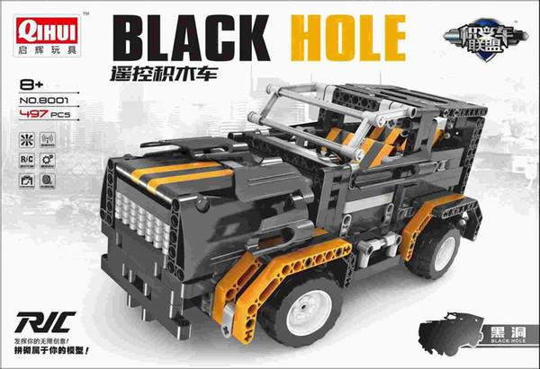 Qi Hui 8001 black hole remote control blocks car