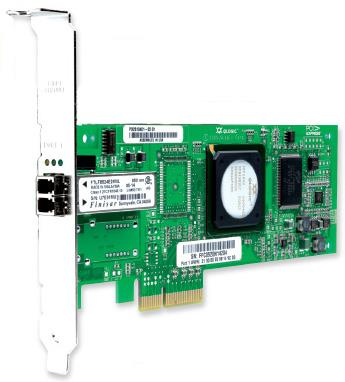 QLogic SANblade QLE2460 Single-Port PCIe-to-4Gbps Fibre Channel Adapte