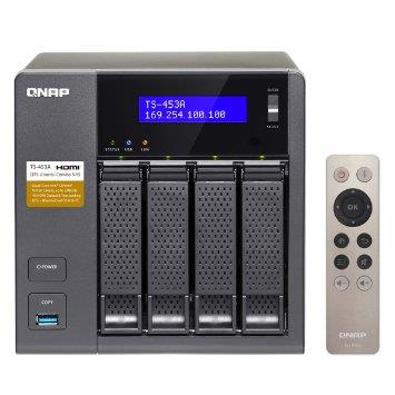 QNAP Business‐Middle End 4-Bay NAS Storage (4GB) (TS-453A-4G)