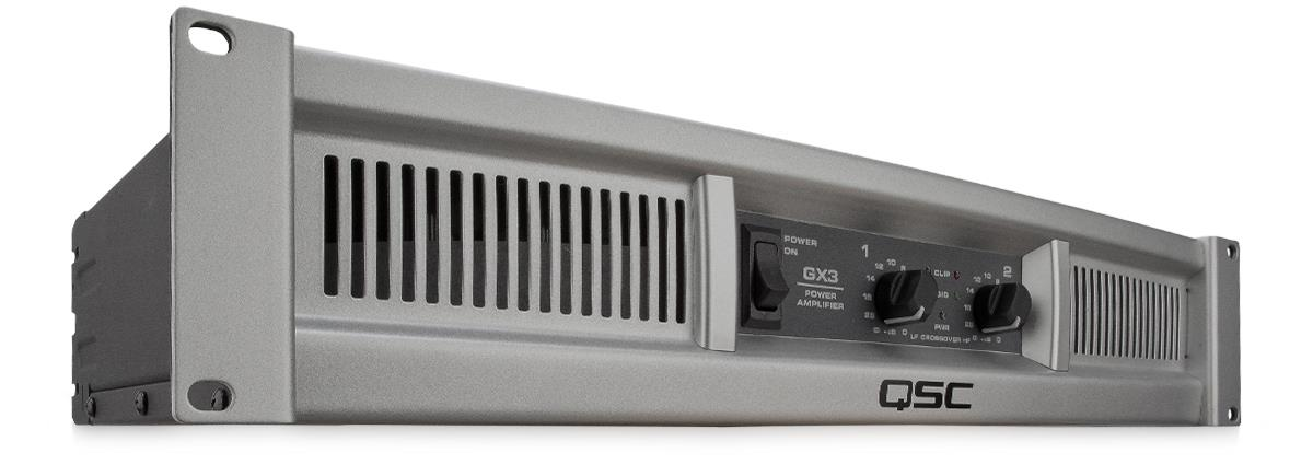 QSC GX-3 (2-Channel, 300W) - Power Amplifier (NEW) - FREE SHIPPING