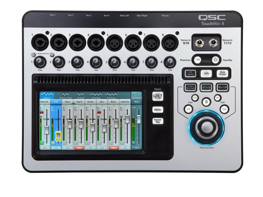 QSC Touchmix 8 - 8-Channel Digital Mixer (NEW) - FREE SHIPPING