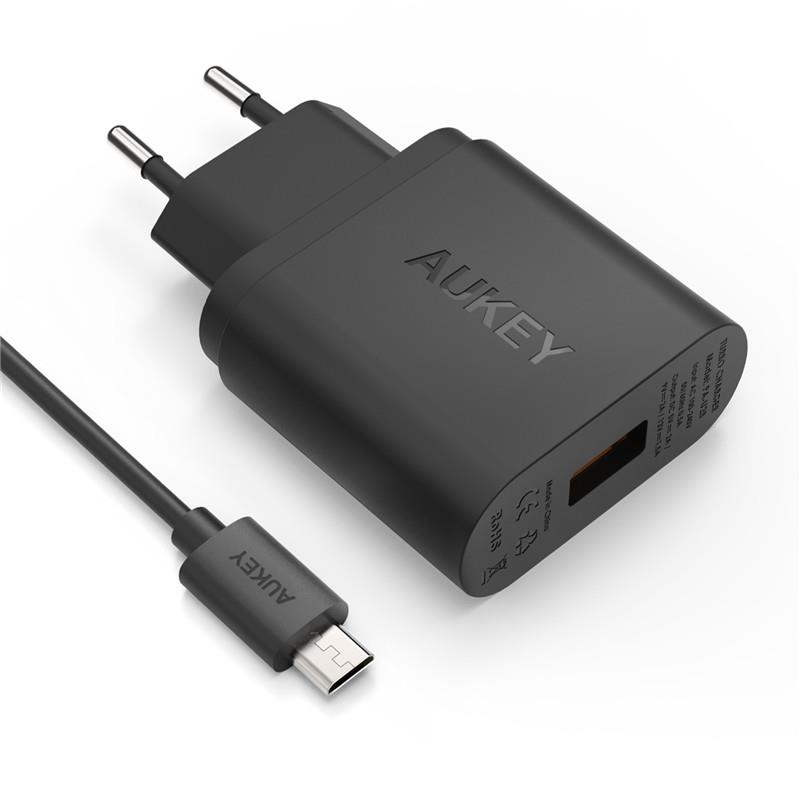 [Qualcomm Certifed] Aukey Quick Charge 2.0 USB Wall Charger