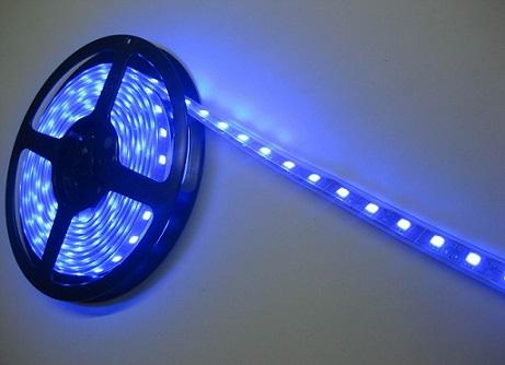 Quality LED Strip Light SMD5050 60LED/m DC 12V Blue