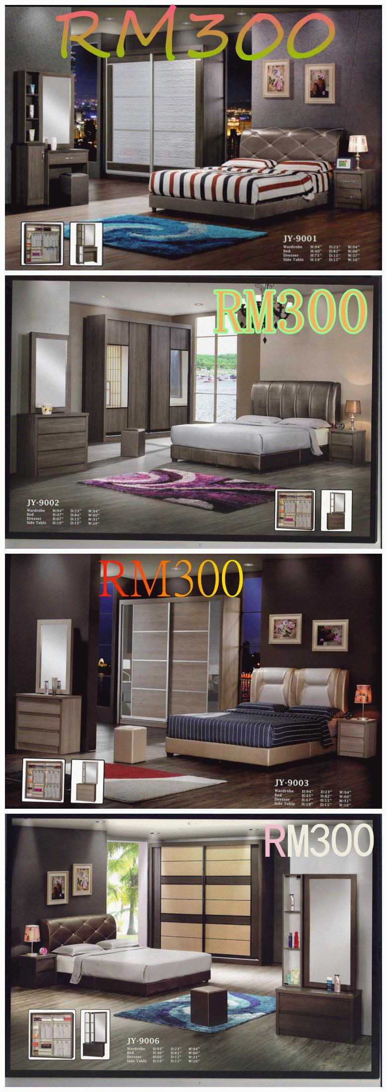 QUEEN SIZE BEDROOM SET INCLUDING MATTRESS 6 IN 1 INSTALLMENT PRICE