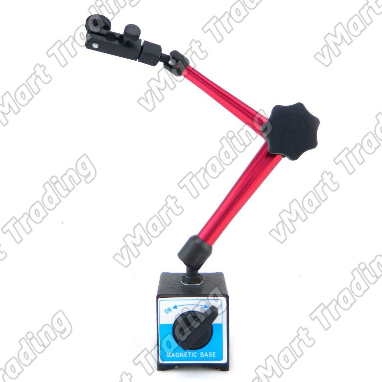 Quick Attach Magnetic Stand for Dial / Digital Indicator [Large]
