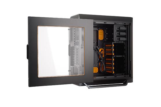 BE QUIET SILENT BASE 800 WITH WINDOW ATX CASING ORANGE