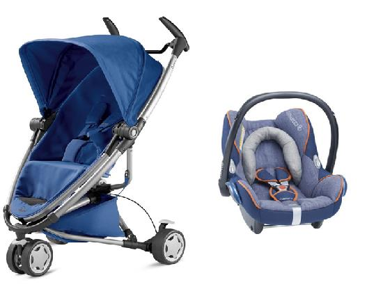 Quinny Zapp Xtra 2.0 Stroller with Maxicosi Cabriofix Carrier
