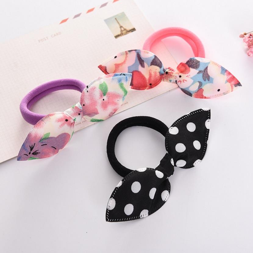 Rabbit Ears/ Ribbon/ Bow Elastic Hair Band [Buy 2 Get 3] [Buy 3 Get 5]