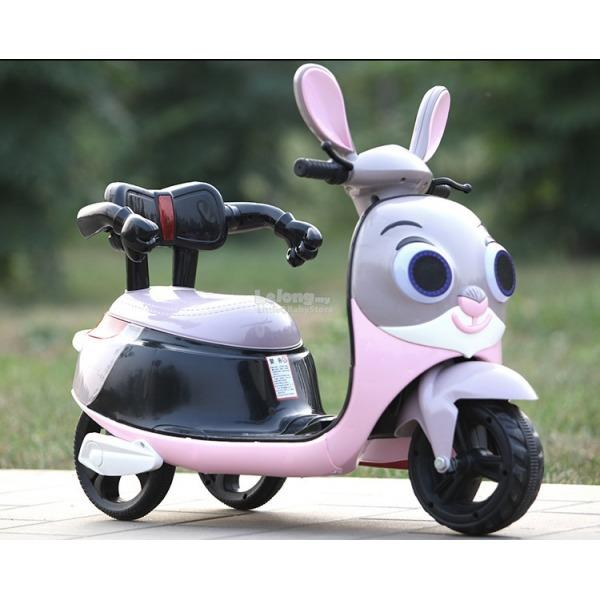 Rabbit Electric Ride-On Scooter for Kids