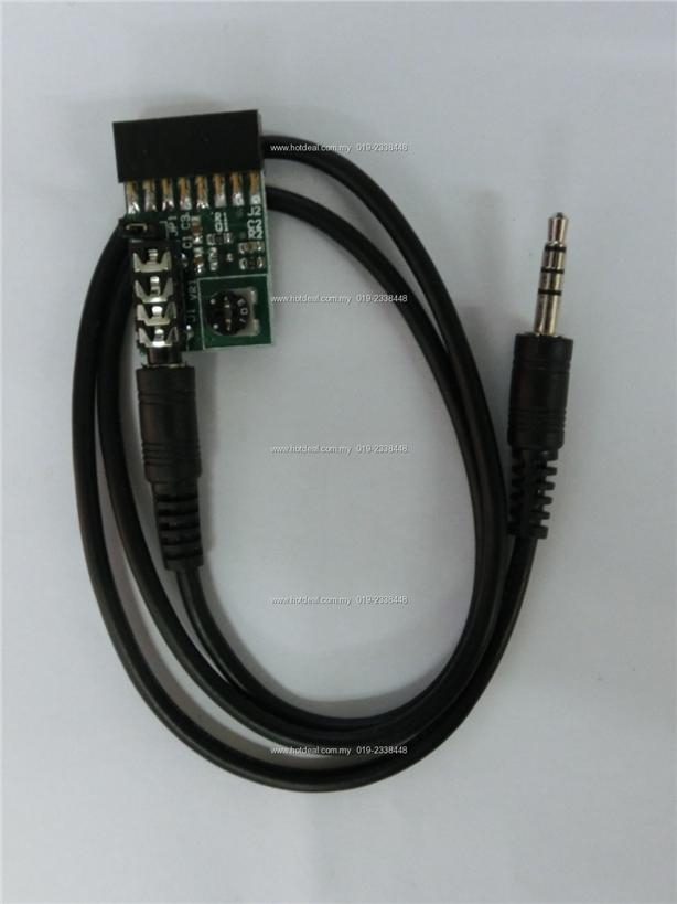 Radio-tone Repeater Cable for Motorola GM300