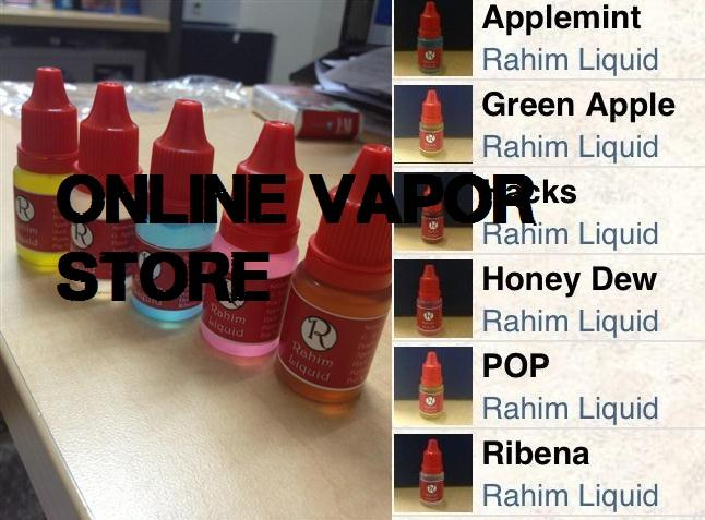 Rahim Liquid Ejuice E-Cigarette Liquid 9mg Nicotine