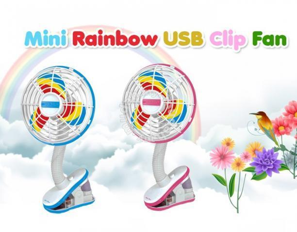 RAINBOW FAN WITH USB