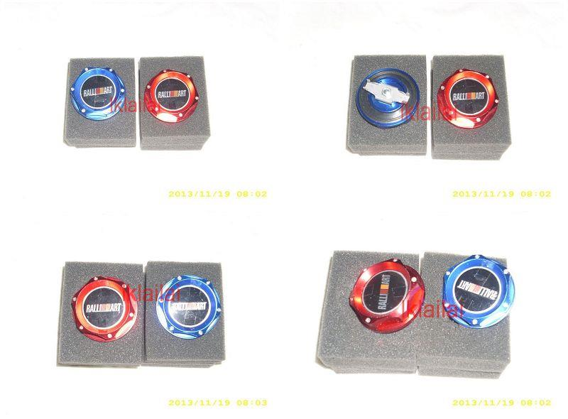 Ralliart Engine Oil Cap Proton [Blue / Red]