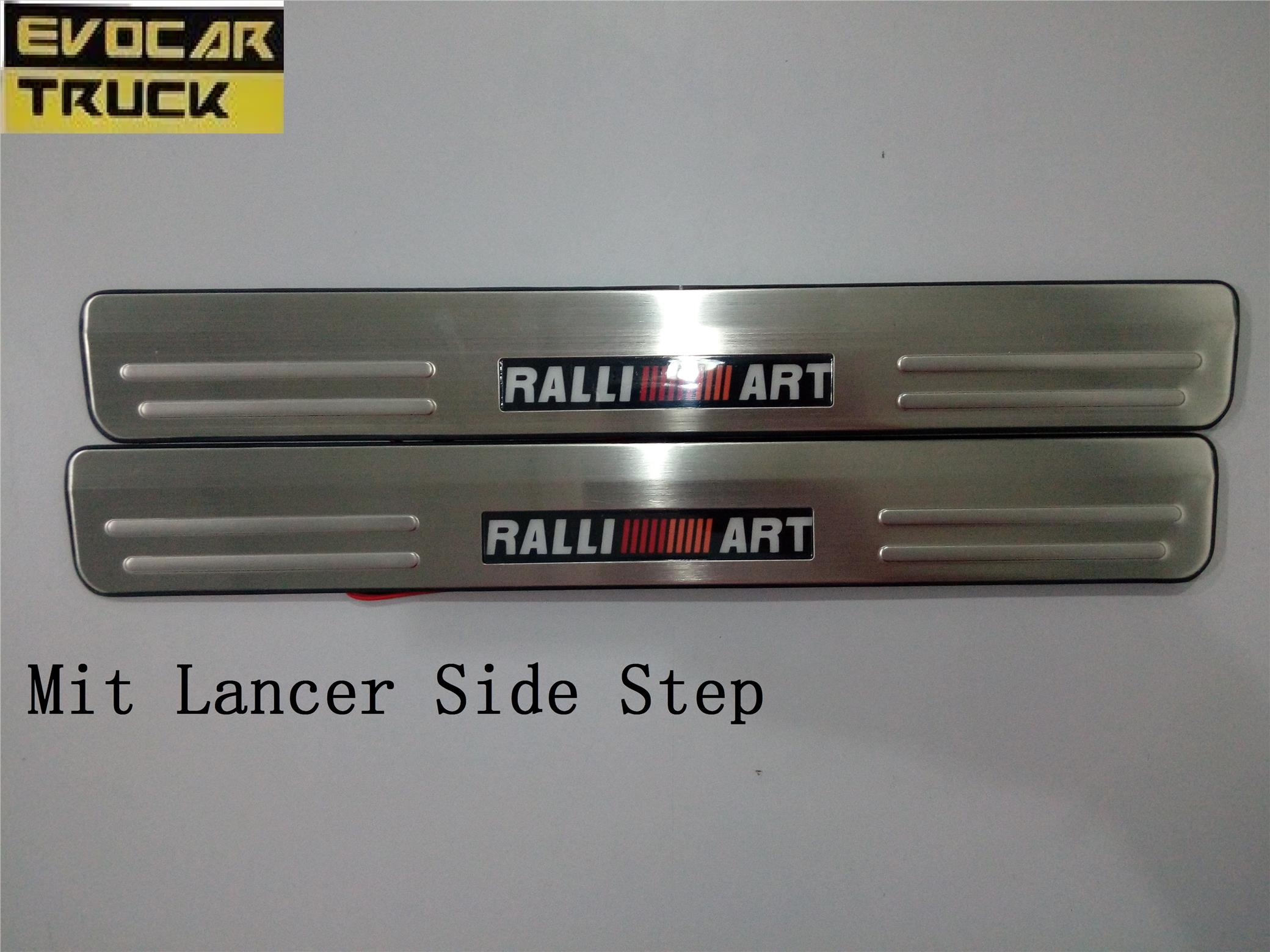 RALLY ART LED DOOR SIDE STEP
